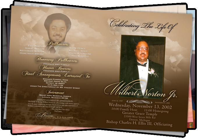 obituary printing detroit michigan